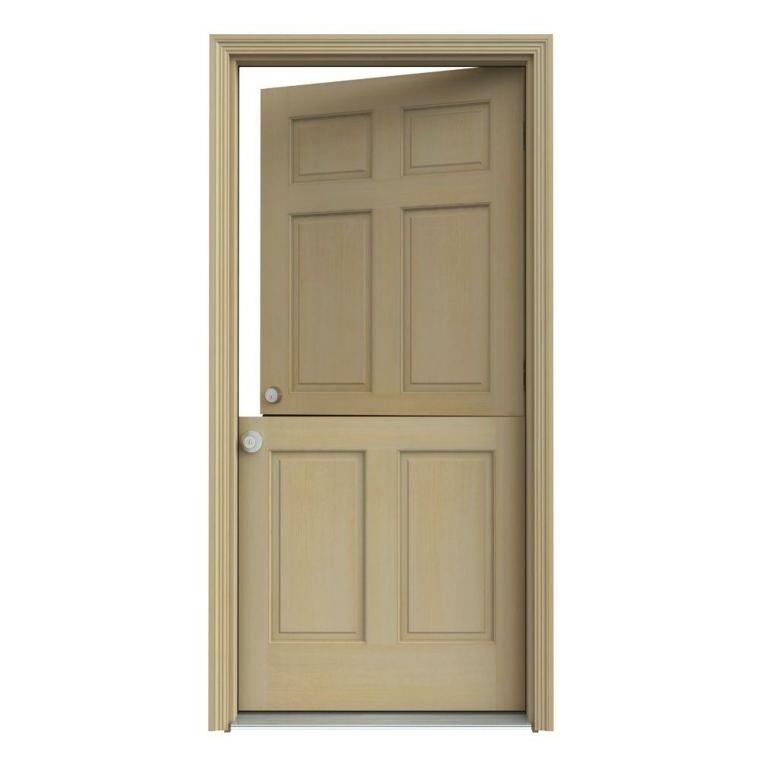 bonita puerta holandesa simple