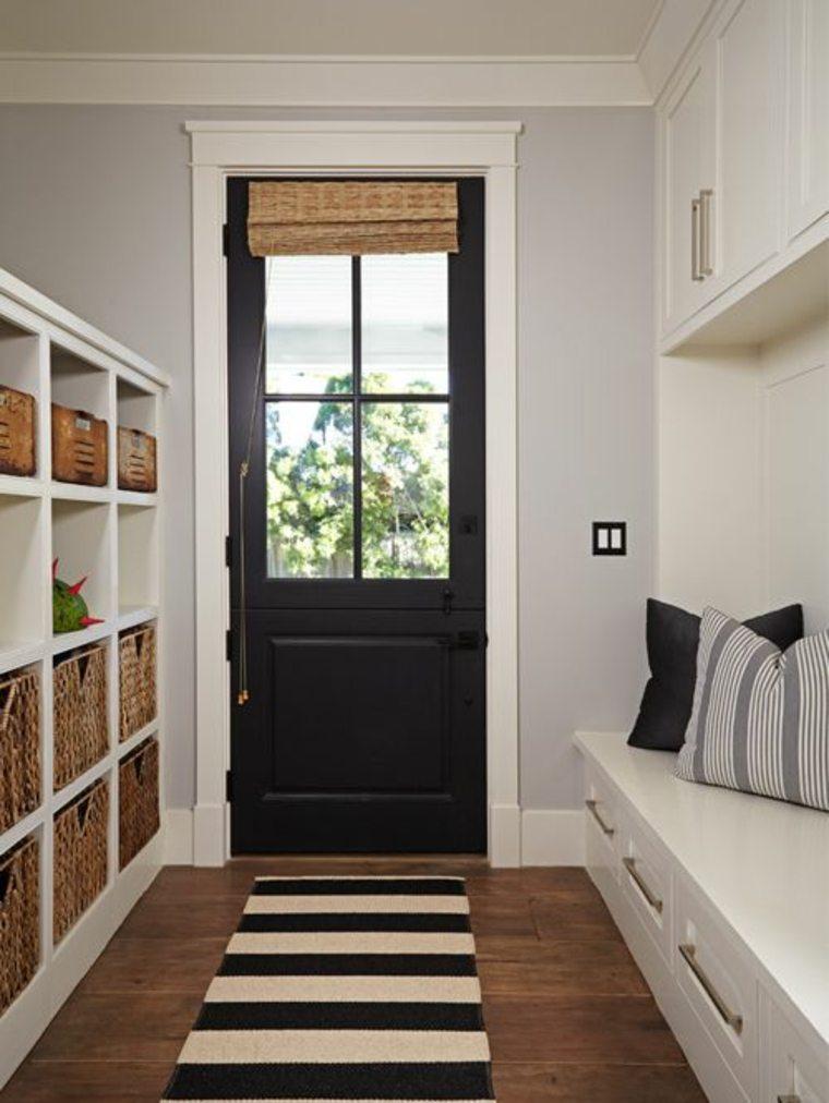 puerta holandesa negra
