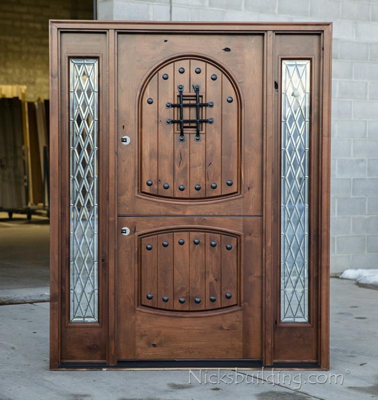 puerta holandesa de madera