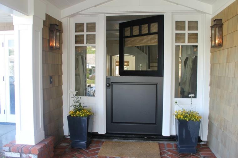 puerta holandesa moderna