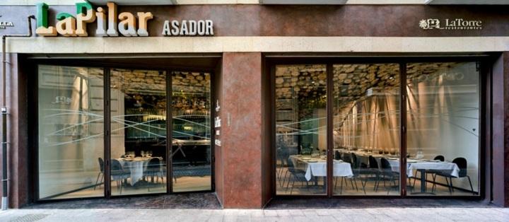 restaurante diseño exteriores muebles
