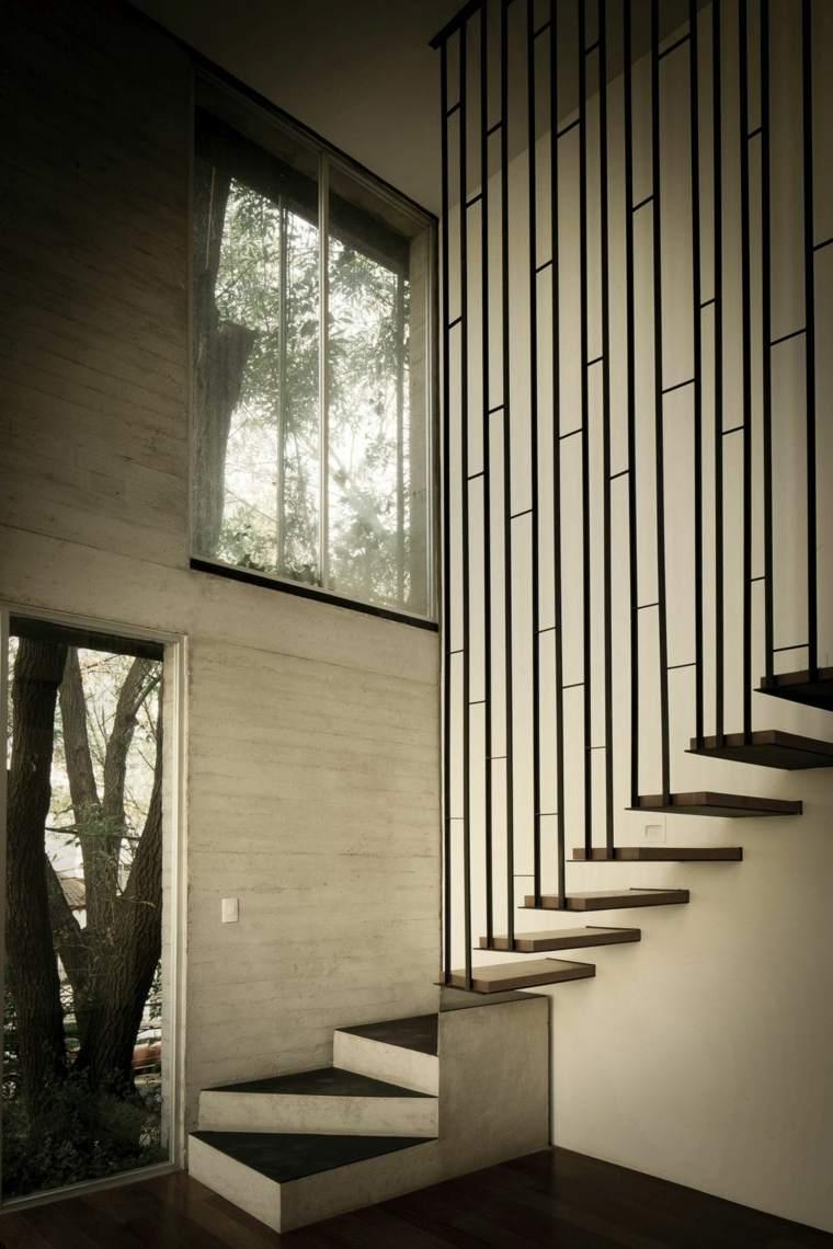 Patrón geométrico para el divisor de escalera
