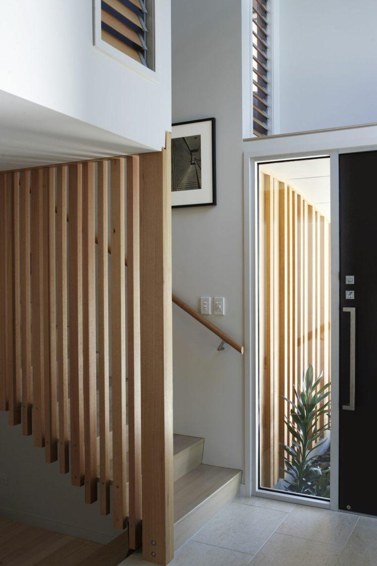 Casa Nikau con acentos de madera