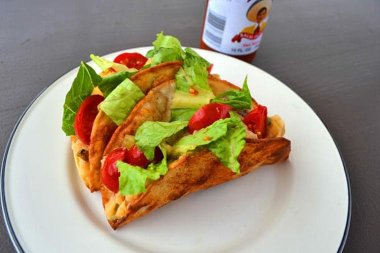Tacos de patatas