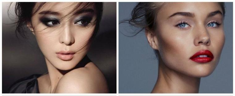 Maquillaje de moda sencillo