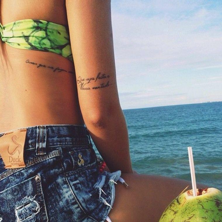 tatuajes con letras