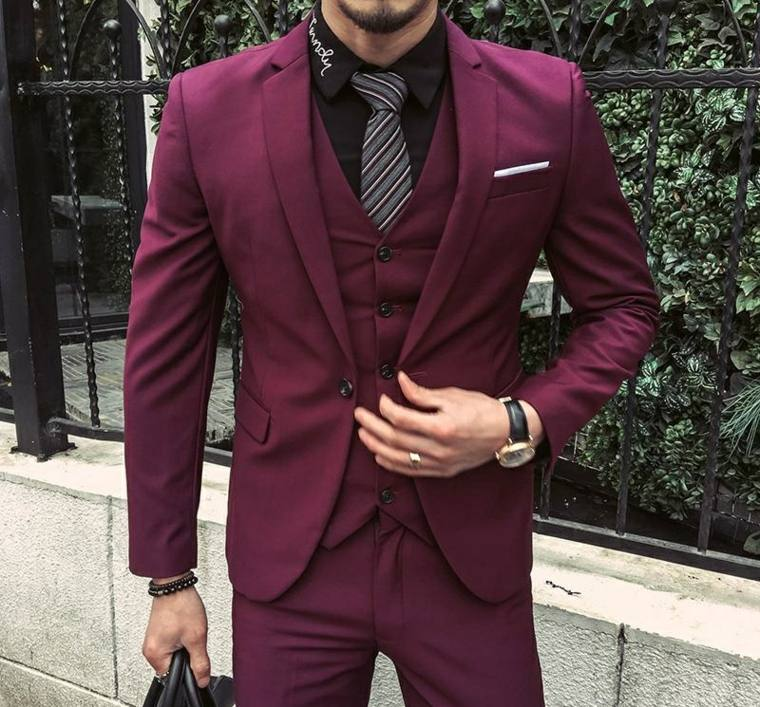 trajes-para-hombre-color-rojo-oscuro-original