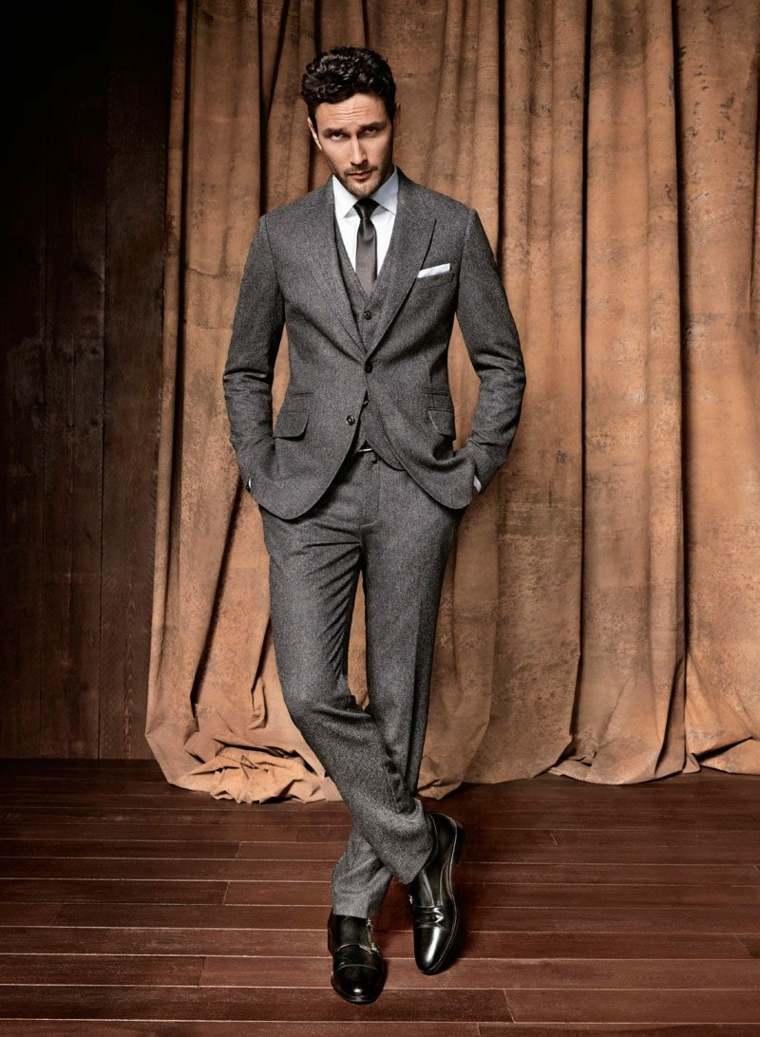 trajes-para-hombre-color-tres-partes-gris-bello