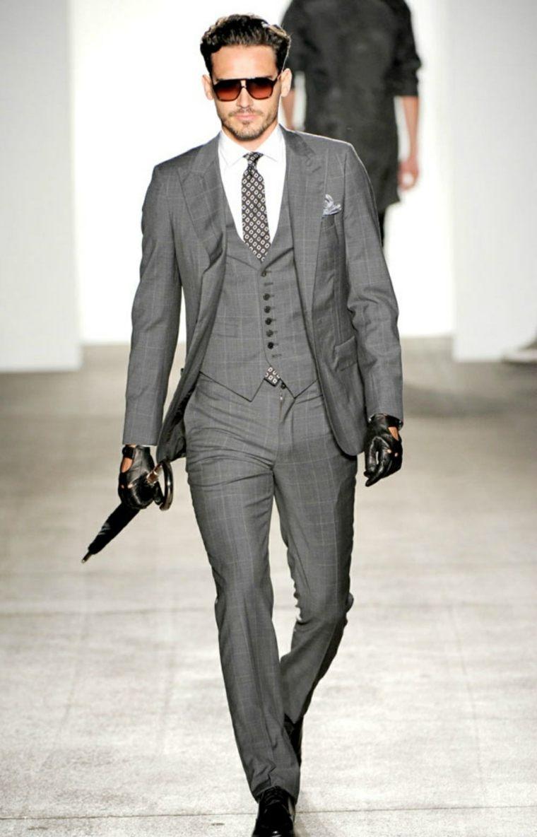 trajes-para-hombre-color-tres-partes-gris