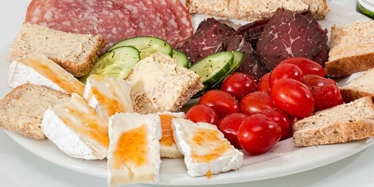 una comida saludable-proteinas