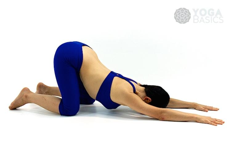 postura de yoga para adelgazar