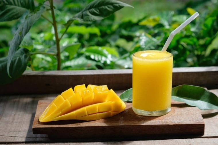 zumo de mango