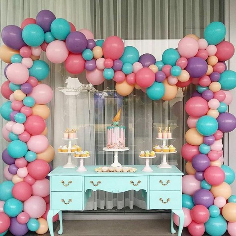decorar fiestas de cumpleaños con globos