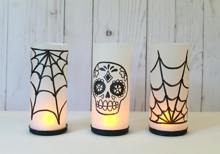 adornos halloween-velas-interior