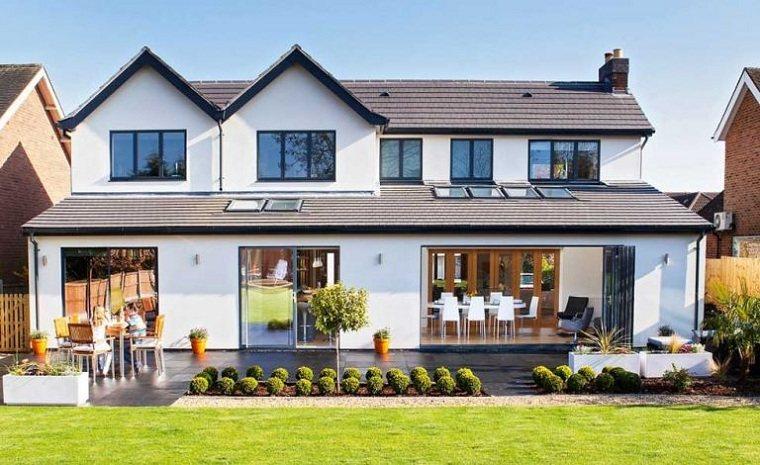 Ahorro de energía casa-aislamiento