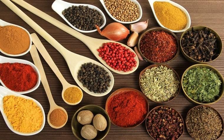 alimentación saludable-especias-comida-ideas