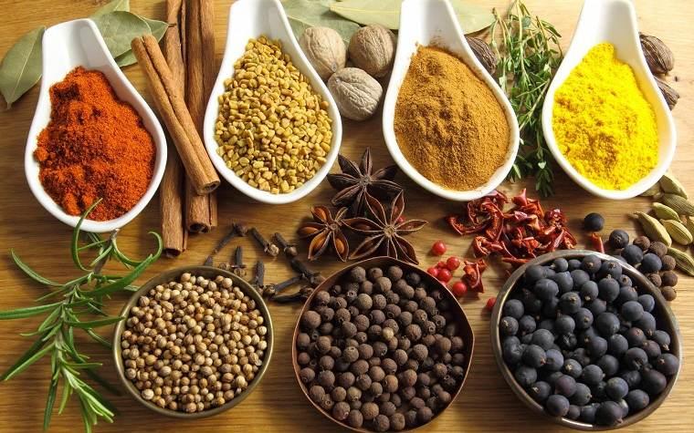 alimentación saludable-especias-comida-vitaminas-salud