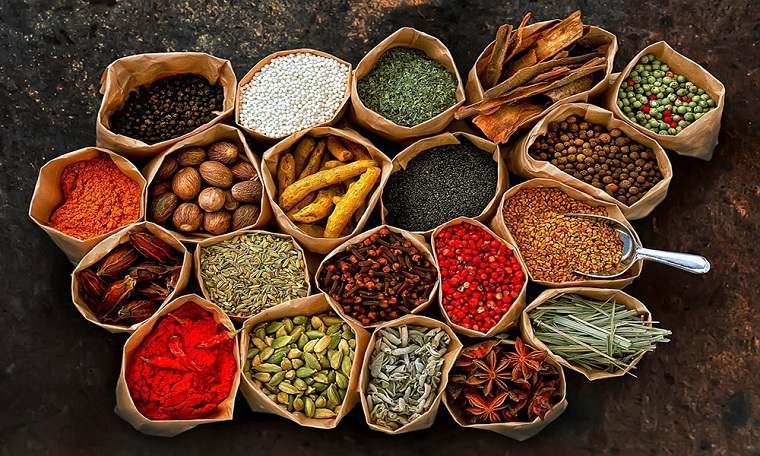 alimentación saludable-especies-hierbas