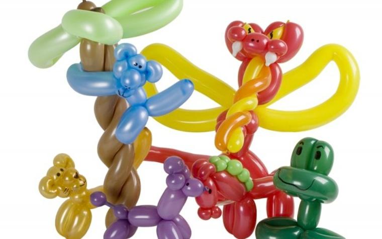 Hacer animalitos con globos