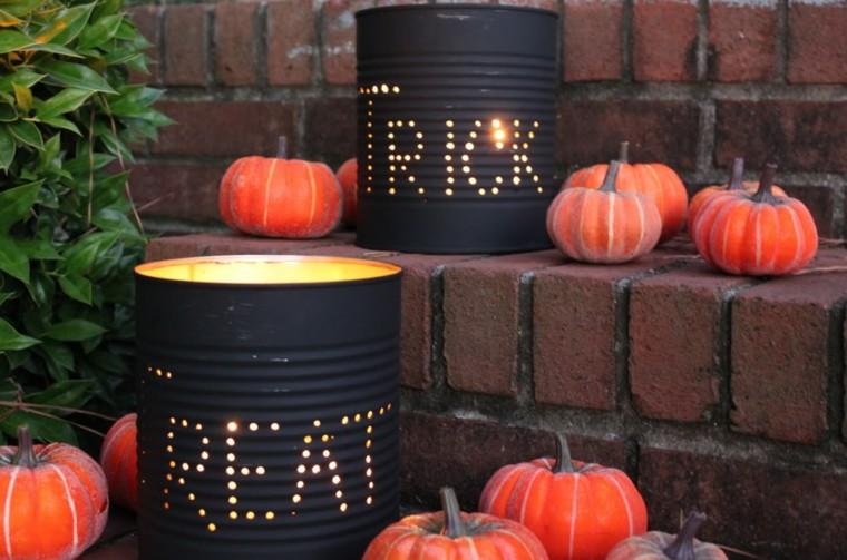 arreglos de halloween-latas