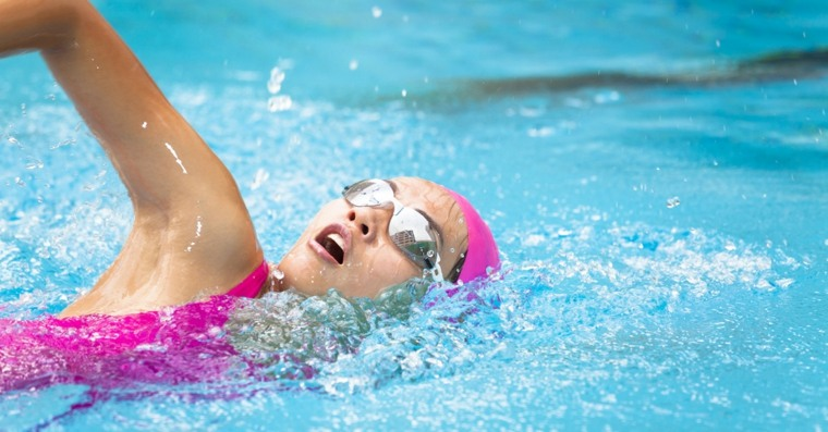 aumento de senos-natacion