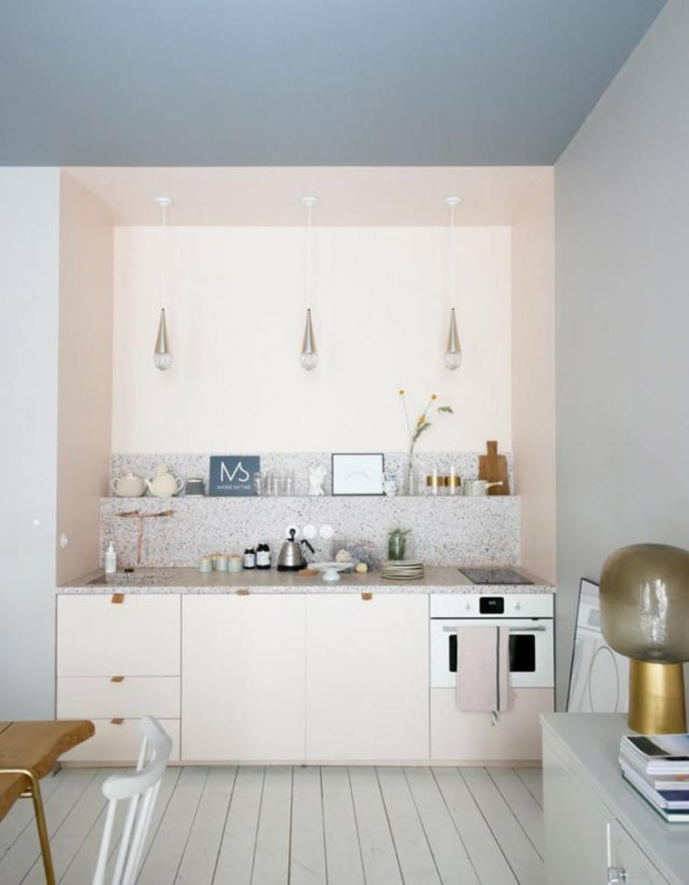 Vea su cocina a través de gafas de color rosa