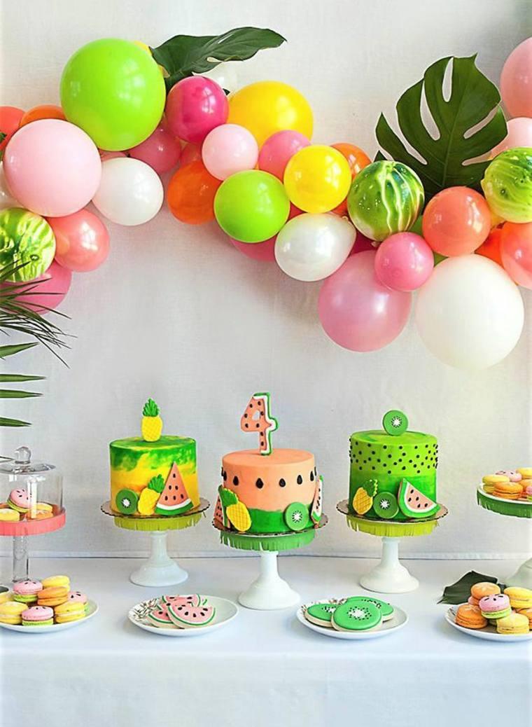 fiestas de cumpleaños con globos