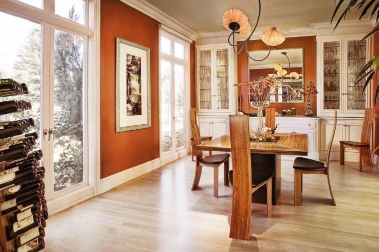 colores para interiores-diseno-comedor