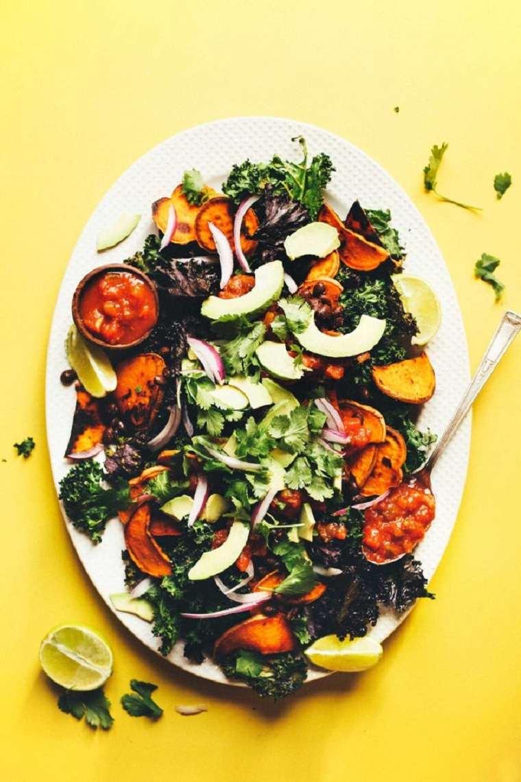 comida vegetariana mexicana-col-ideas-originales