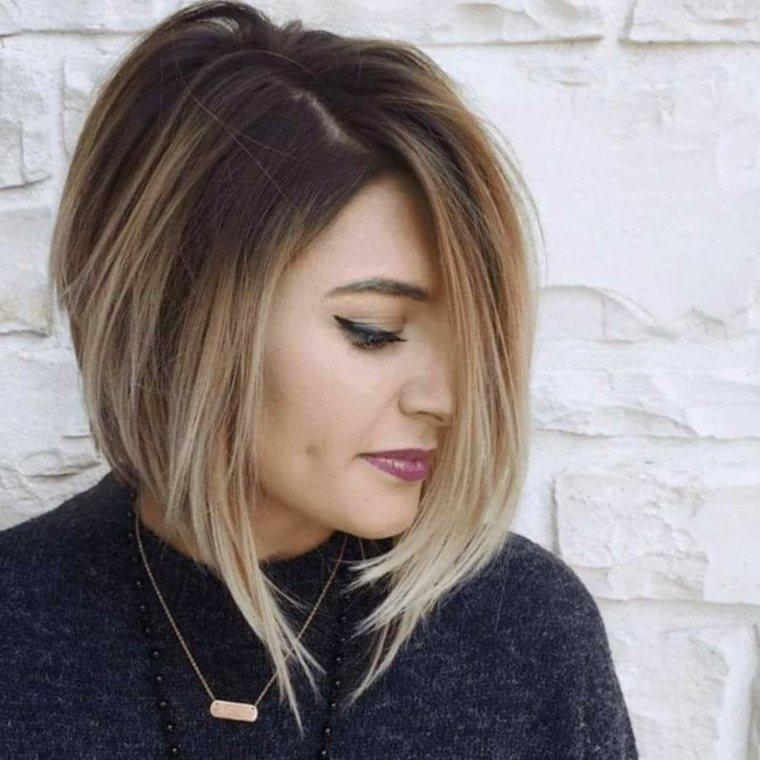Corte de pelo de dama en capas