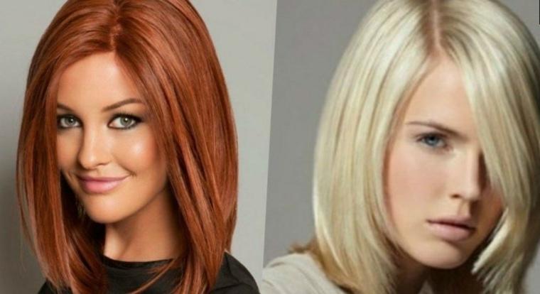 cortes de pelo para mujer-flequillo-lateral