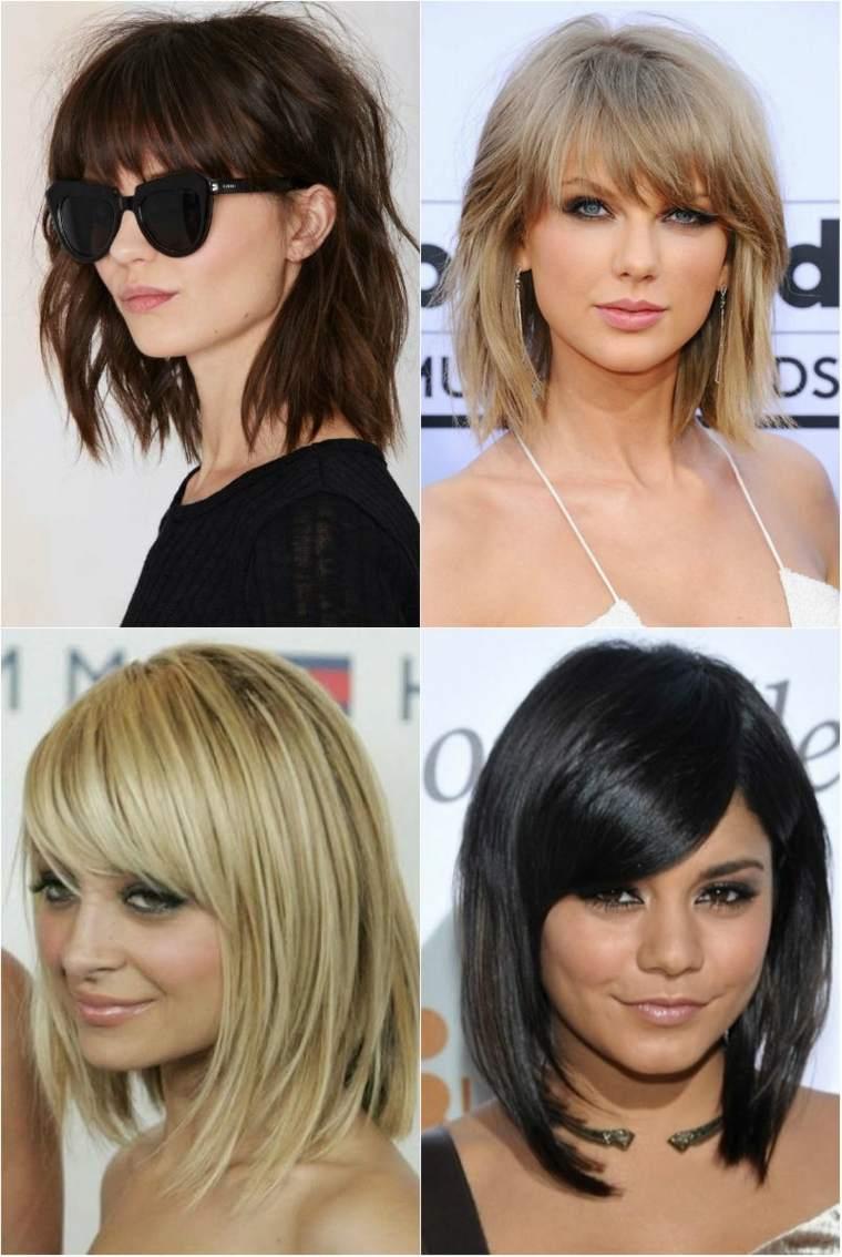 cortes de pelo para mujer-flequillo