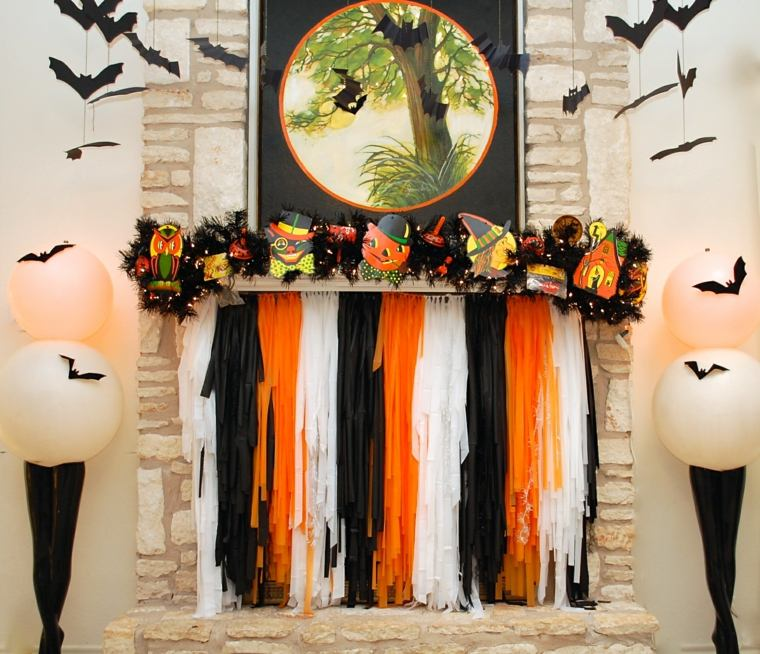 decoracion de halloween-murcielagos