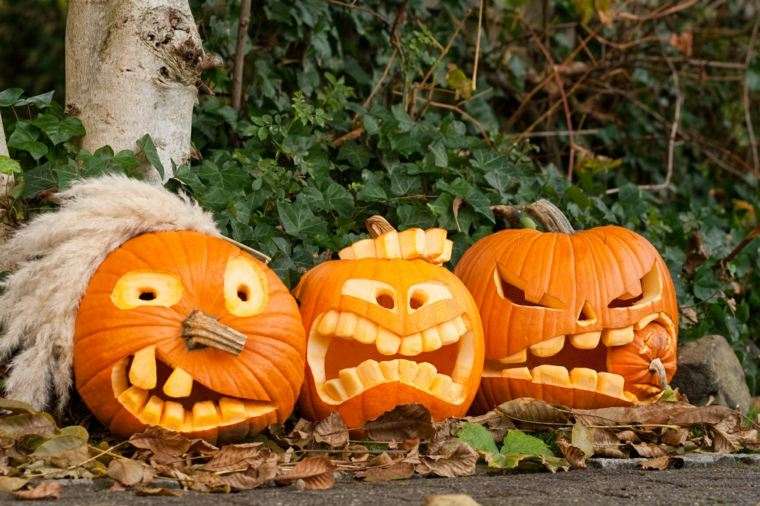 decoracion para halloween-calabazas-originales