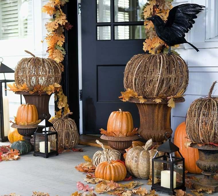 decoracion para halloween-entrada