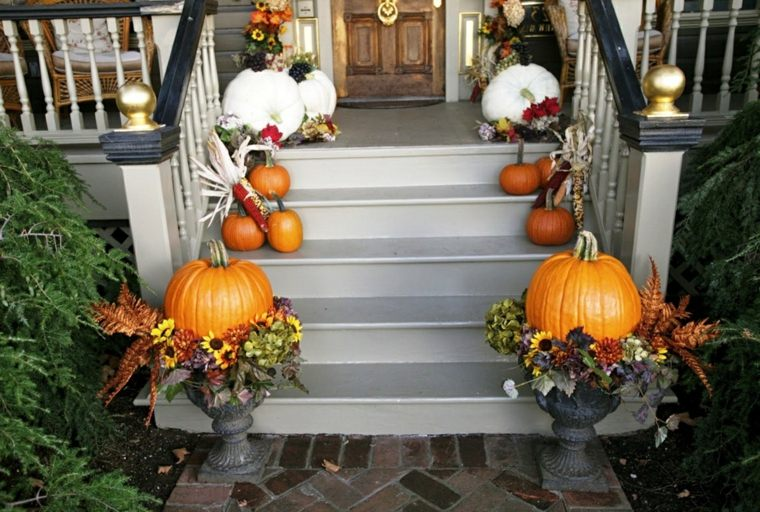 decoracion para halloween-escaleras