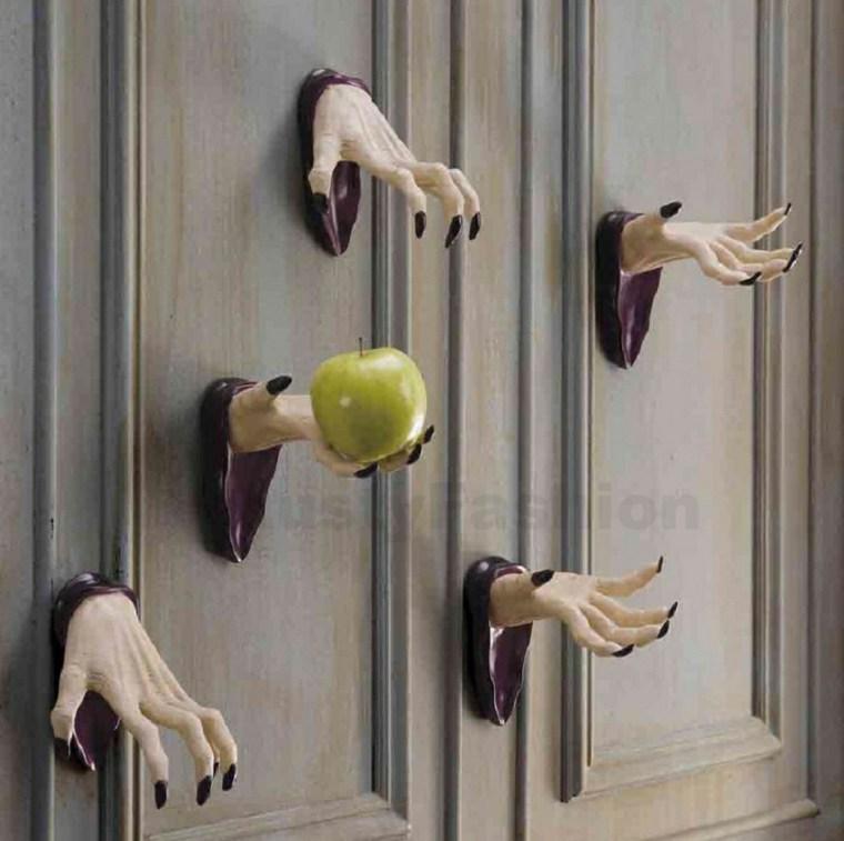 decoracion para halloween-puertas