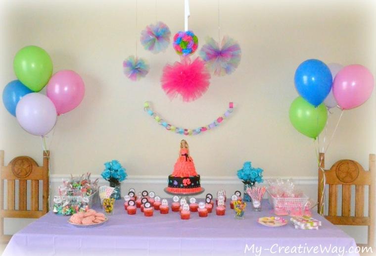 fiestas con globos