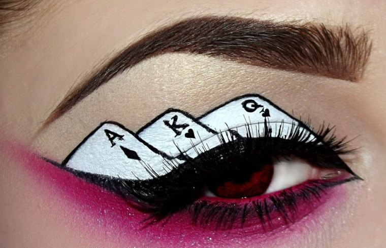 difraces para mujer-maquillaje-halloween
