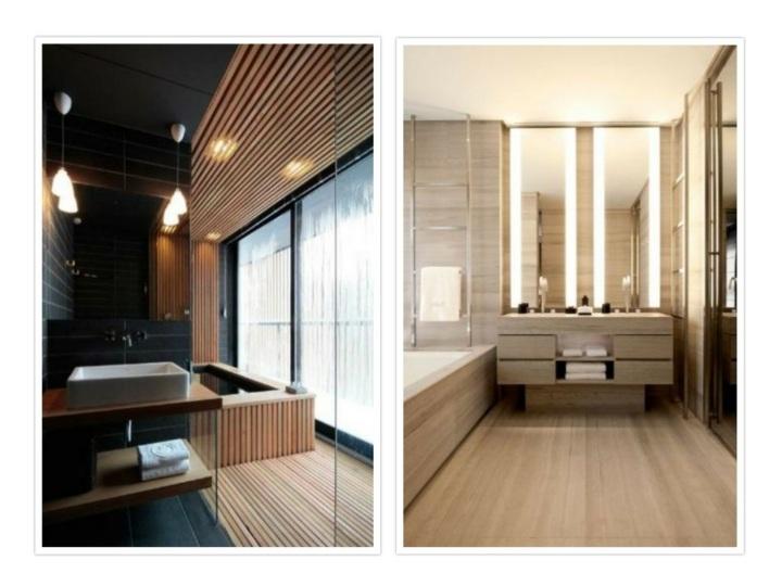 diseños de baños efectos modernos creativos