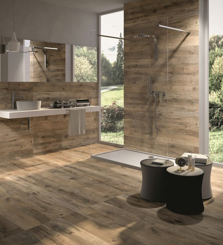 diseños de baños vistas exteriores