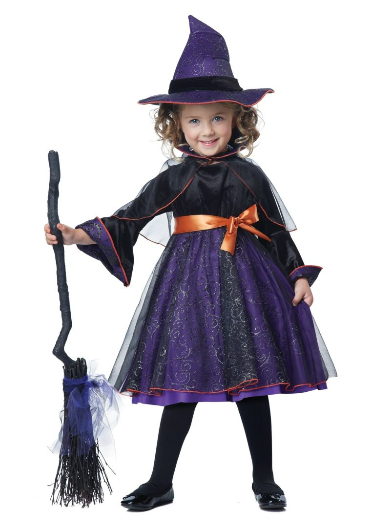 disfraces de halloween bruja-lila