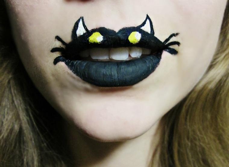 disfraces de halloween para mujer-boca