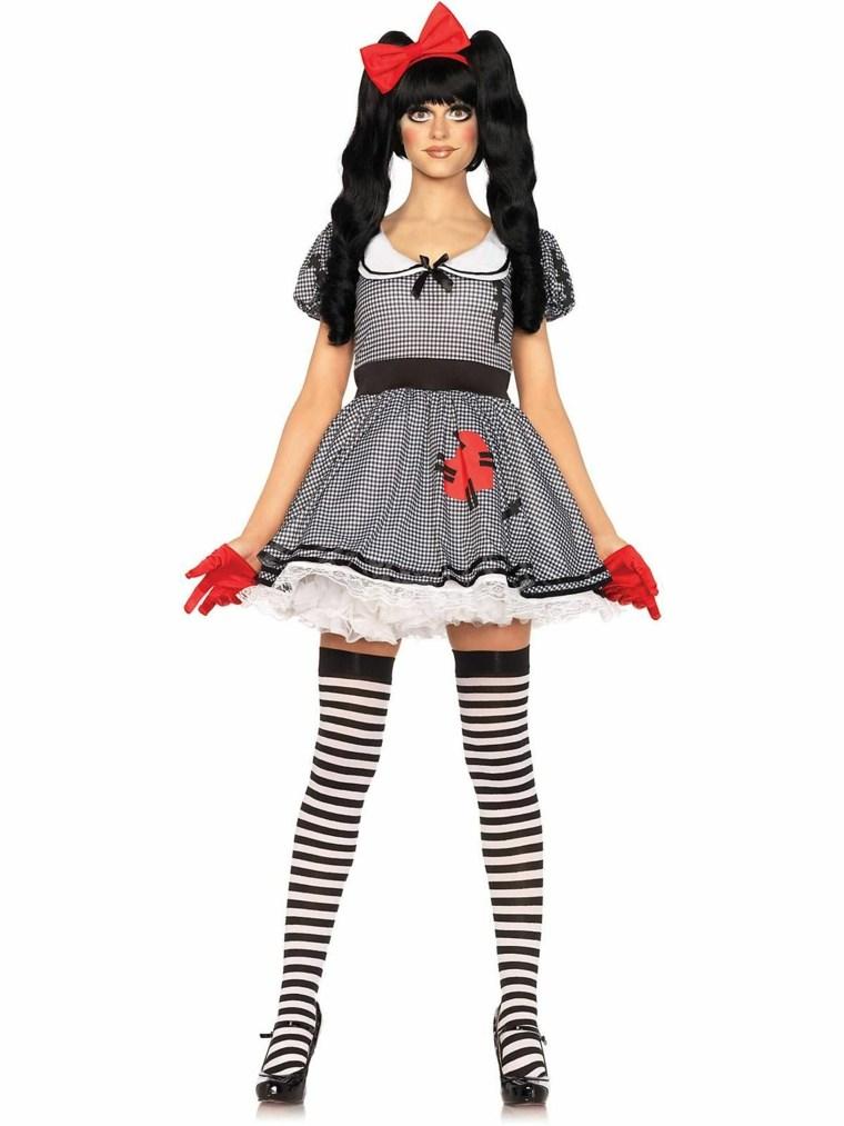disfraces de halloween para mujer-muneca