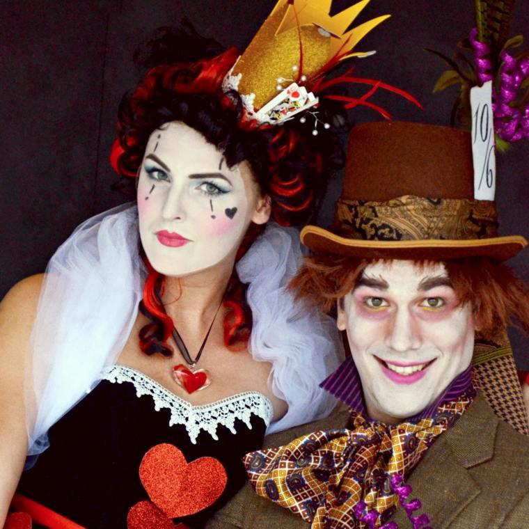disfraces faciles-halloween-reina-de-corazones