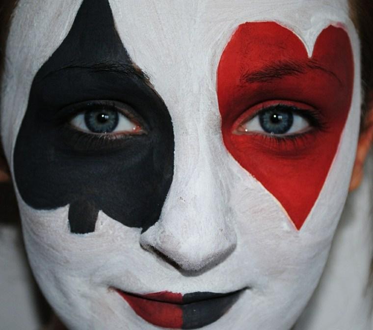 disfraces para halloween-maquillaje-reina