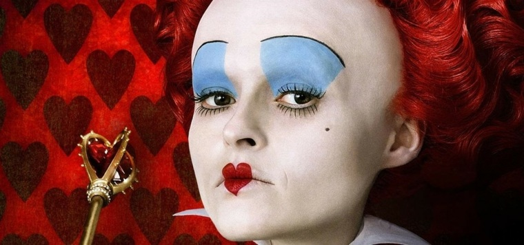 disfraces para mujer-maquillaje-reina-de-corazones