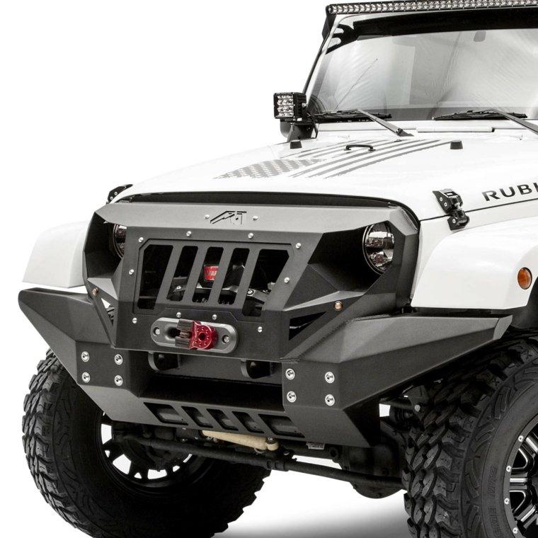parte delantera jeep