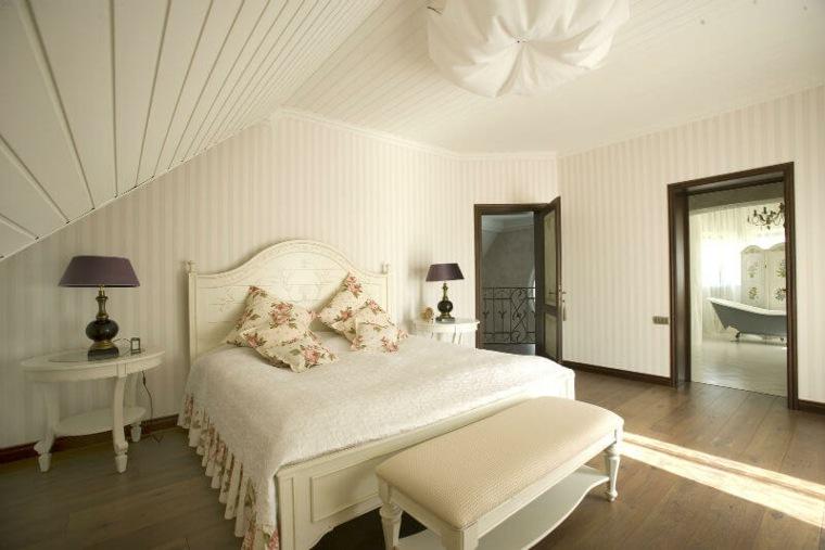 dormitorio lujoso en el atico