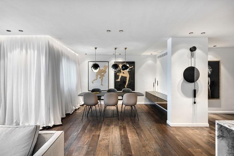 el diseño-piso-moderno-tel-aviv-ideas-comedor